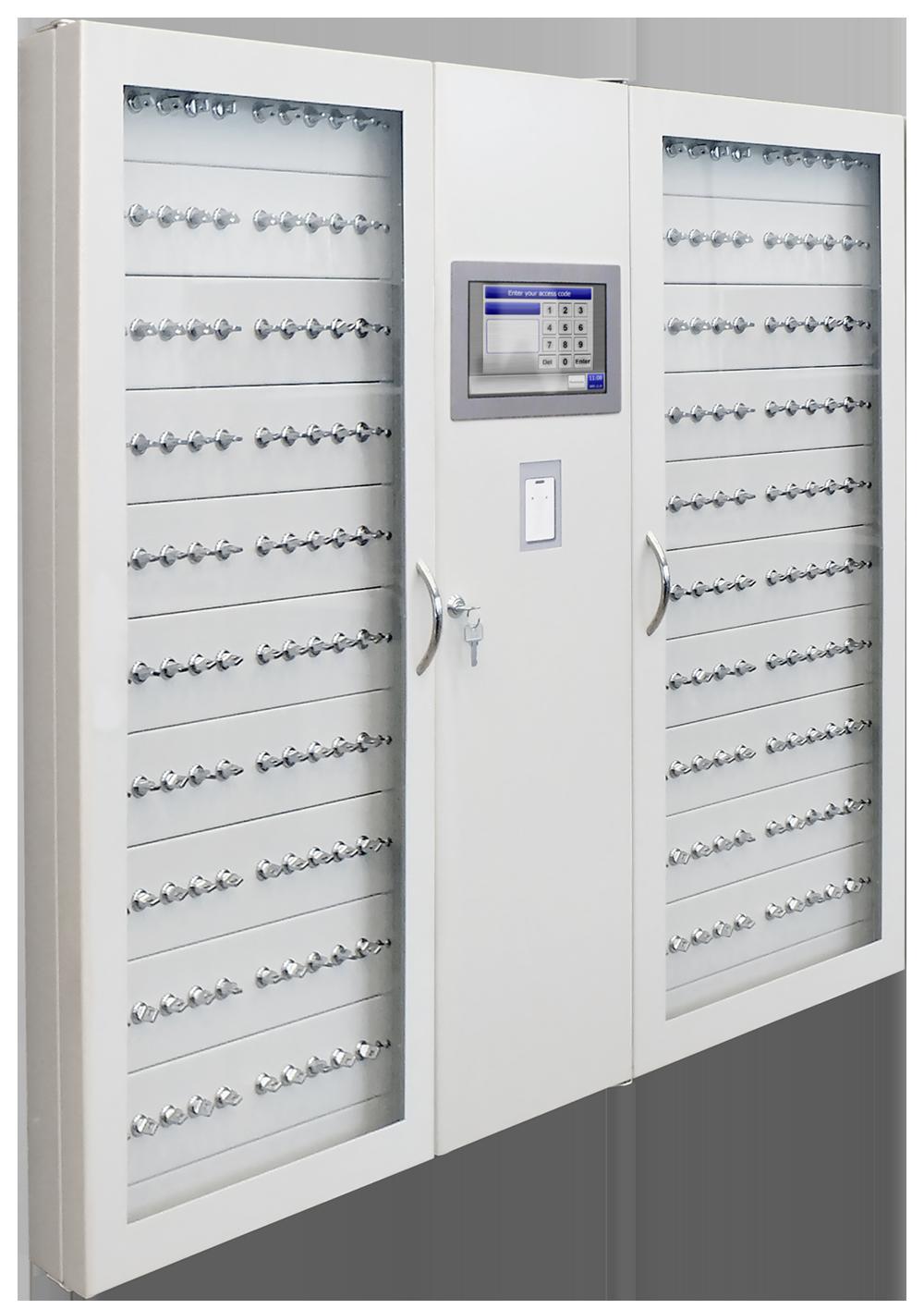 Elektronisk håndtering, administration og opbevaring af nøgler og værdigenstande i kabinetter, bokse, skabe, lockers